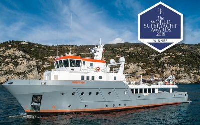 OCEANKING 130 GENESIA: 2018 World Superyacht